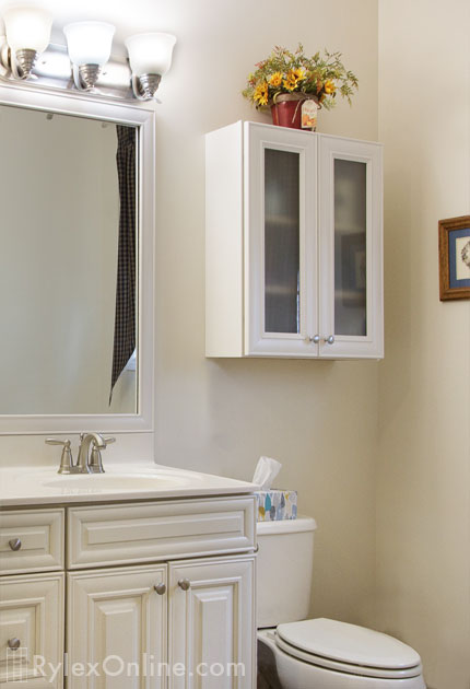 Extra Storage Wall Mounted Bathroom Cabinet Matching
