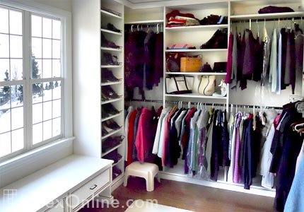 Jewelry Storage Ideas Master Closet