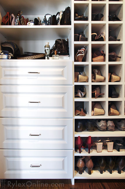 Shoe Shelves | Shoe Cubbies | Warwick, NY | Rylex Custom ...