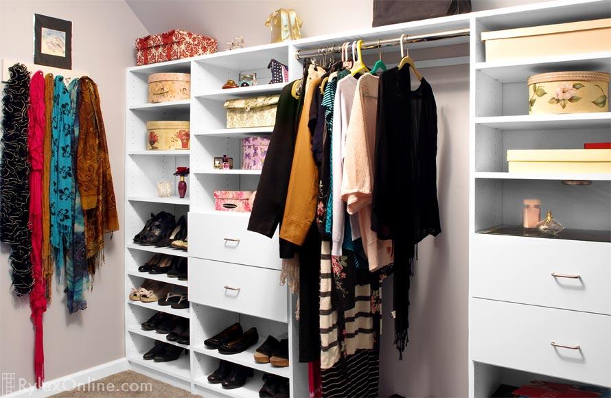 Walkin Attic Closet