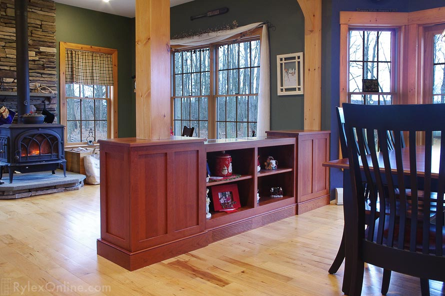 Cabinet Room Divider Hidden Storage Orange County Ny