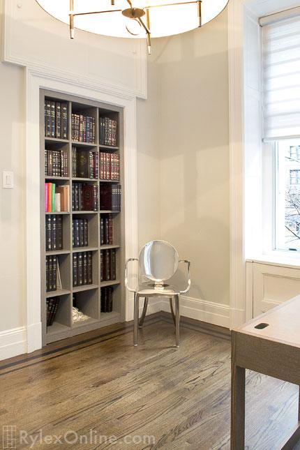 Converted Closet To Bookcase Newburgh Rylex Custom