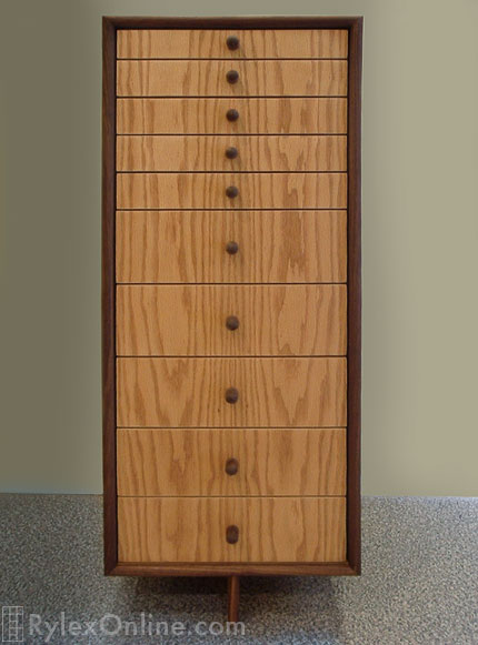 Bon Custom Jewelry Cabinet With Drawers ...