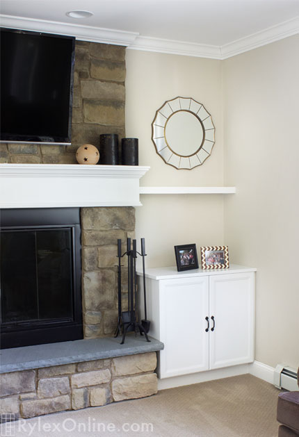 Fireplace Cabinets Floating Shelves Beacon Ny