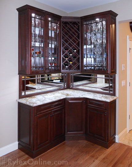 Home Wine Bar Highland Mills Ny Rylex Custom Cabinetry