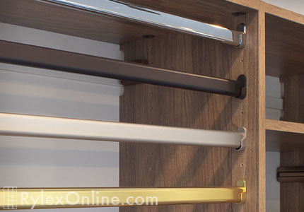 Closet Garment Rods Cabinet Rods Orange County