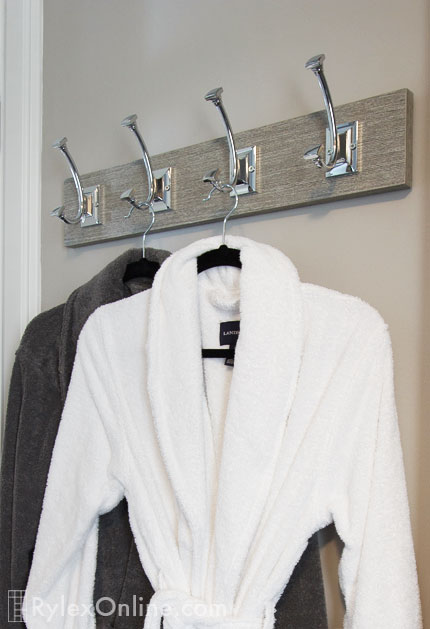 Cabinet Hooks For Towels Closet Robes And