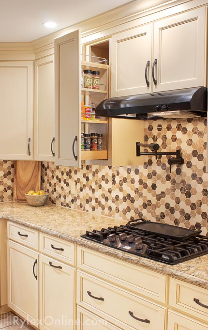 Kitchen Pull Out Shelves | Slim Profile Cabinet ...