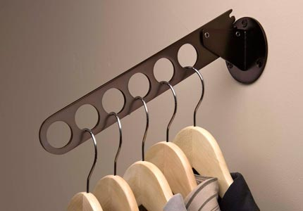 Closet Sliding Valet Rod For Laundry Cabinets