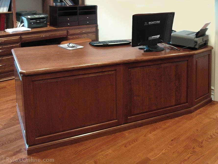Solid Wood Desk Hudson Valley Ny Rylex Custom