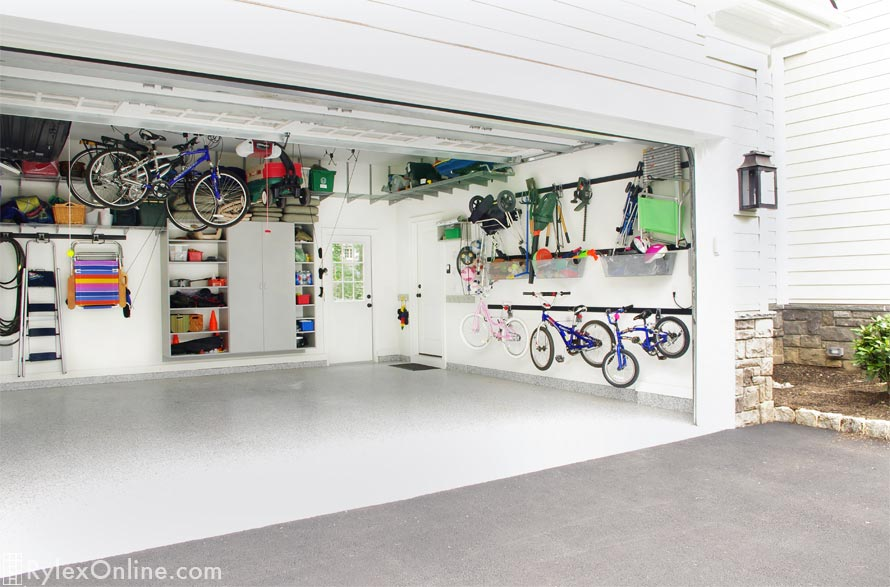 Fast Track Wall Mounted Systems Garage