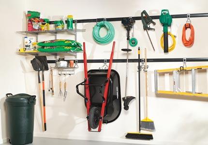 Garage Storage For Gardening Garden Tool Organization