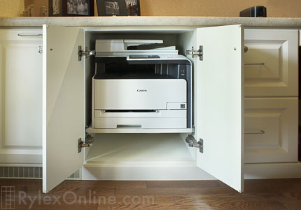 Pull Out Printer Shelf Office Orange County Ny