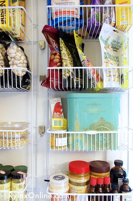 Kitchen Pantry Door Rack