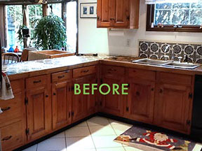 Refacing Kitchen Cabinets Refresh Your Kitchen On A Budget