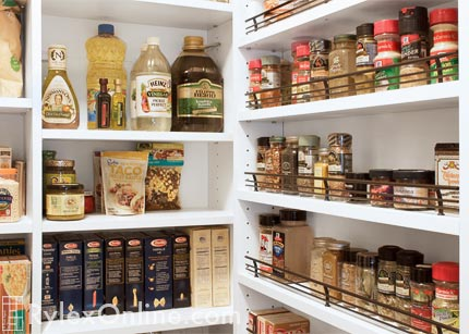 Wall Mounted Spice Rack Keep Pantry Spices Visible And Organized